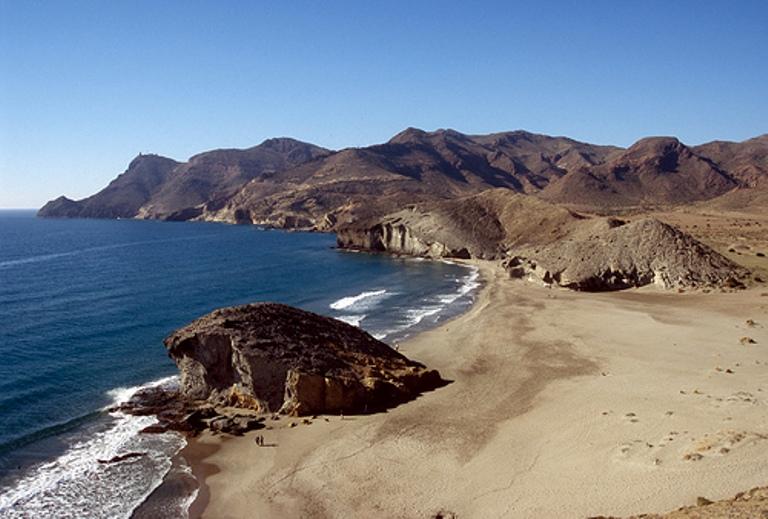 3. Playa del Mónsul, Almería