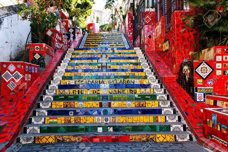 6. Santa Teresa (barrio que tiene una famosa escalera)