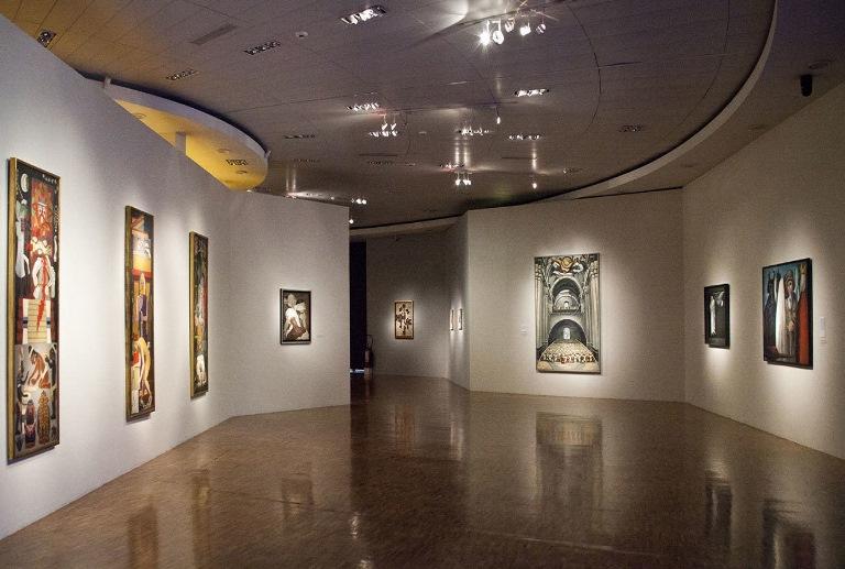 72) Galerías de artes plásticas
