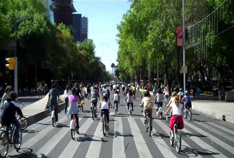 75) Paseo Ciclista de Reforma