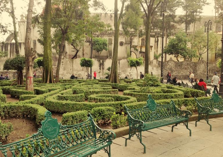13. Jardín Centenario