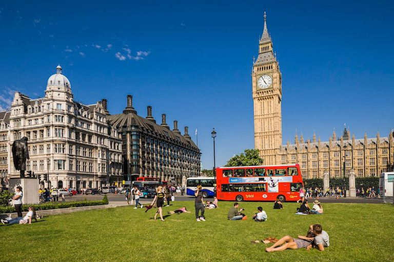 2. ¿Qué temperaturas debo esperar en Londres