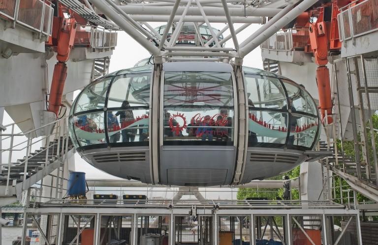 5. ¿Qué debo hacer al llegar al London Eye