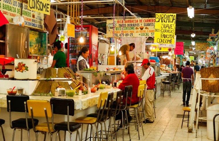 6. Mercado de comida