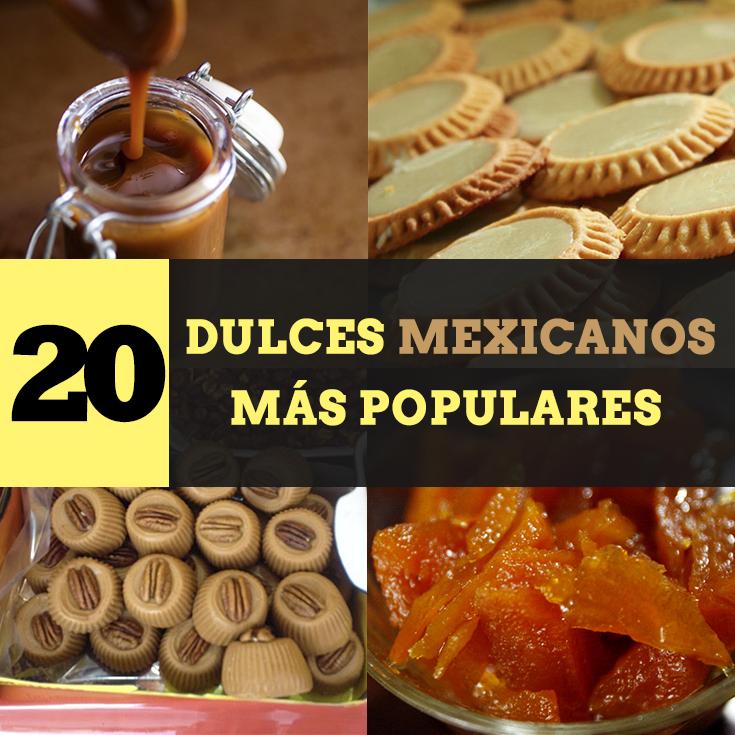 Los 20 dulces mexicanos más populares - Tips Para Tu Viaje
