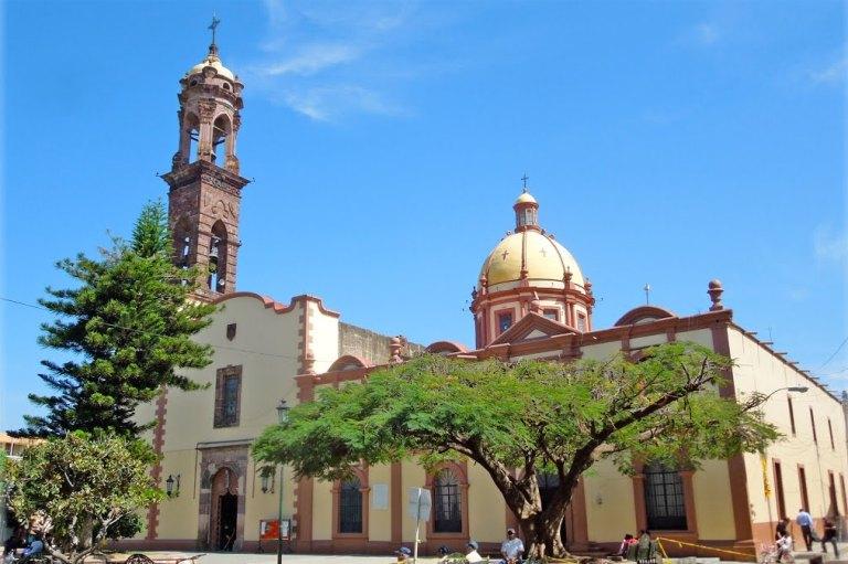 Parroquia de San Francisco de Asís en Jiquilpan de Juárez.