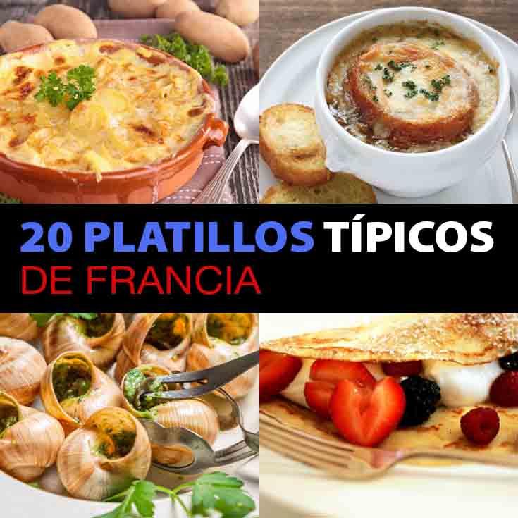 20 Platillos Típicos De Francia Que Tienes Que Comer - Tips Para Tu ...