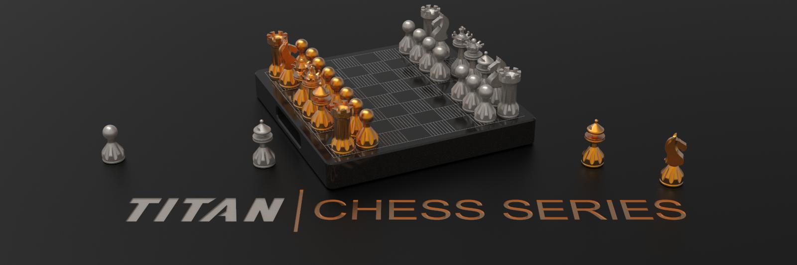 TITAN Chess Set Image
