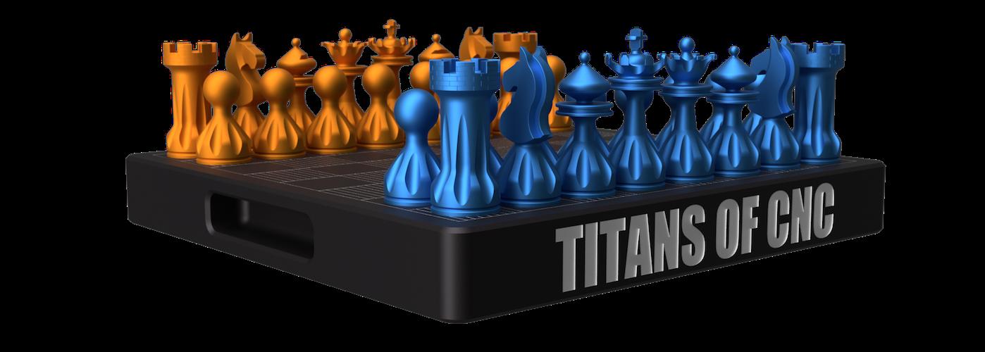 Live Tooling - Chess Set Image