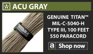 Titan ACU Gray Paracord