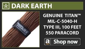 Titan Dark Earth Paracord