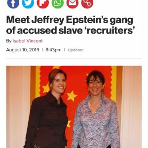 Meet Jeffrey Epstein's Gang Of Accused Slave 'Recruiters'