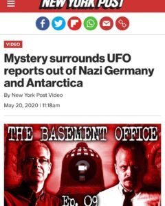 Mystery surrounds UFO reports out of Nazi Germany and Antarctica…