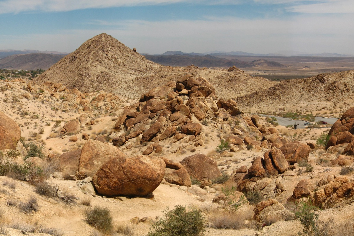 Hiking the 49 Palms Oasis Trail in Joshua Tree National Park.