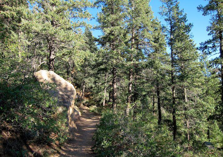 Barr Trail near Colorado Springs.