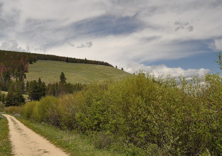 Nez Perce National Historic Trail at Big Hole National Battlefield near Missoula