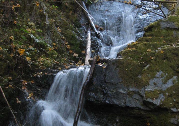 Boulder Creek Falls in Whiskeytown NRA near Redding California