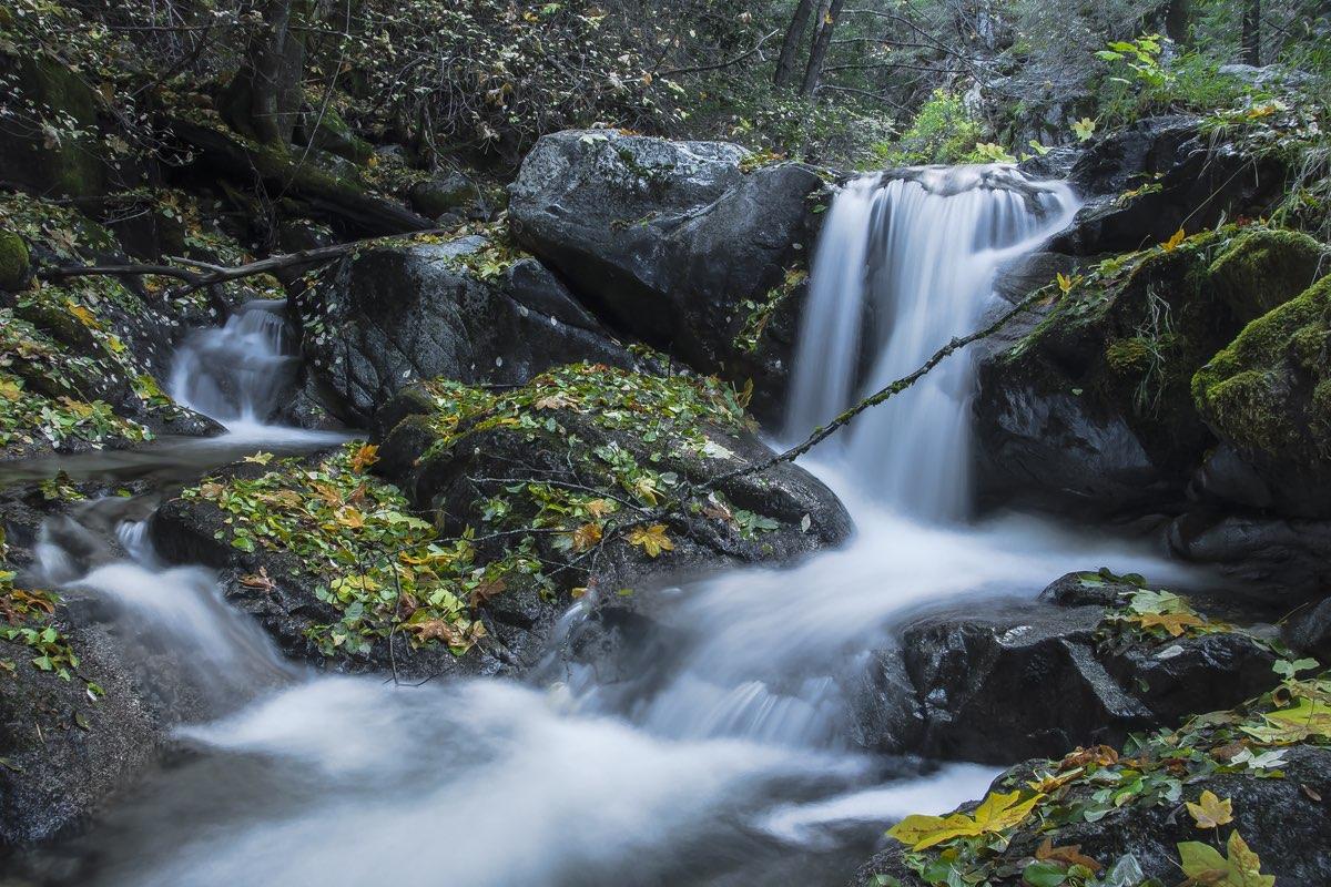 Brandy Creek Falls in Whiskeytown NRA near Redding California