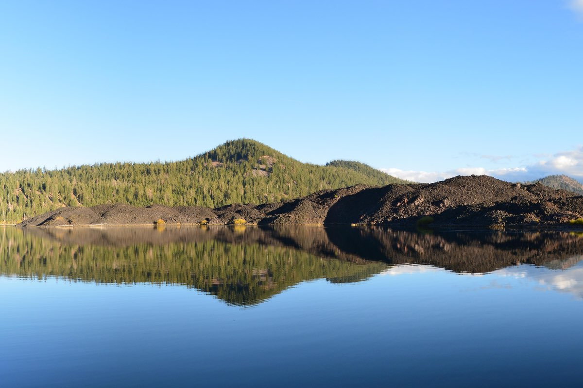 Butte Lake in Lassen Volcanic National Park.