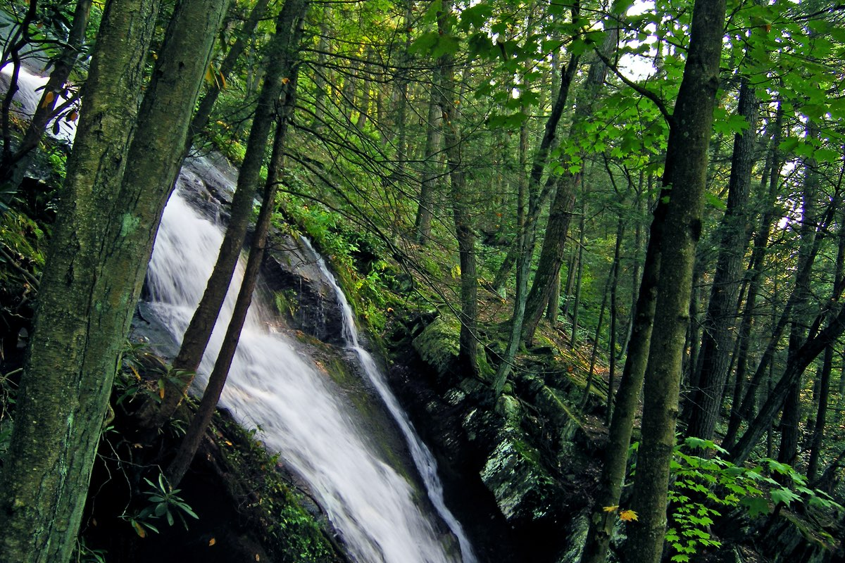 Buttermilk Falls in Delaware Water Gap National Recreation Area.