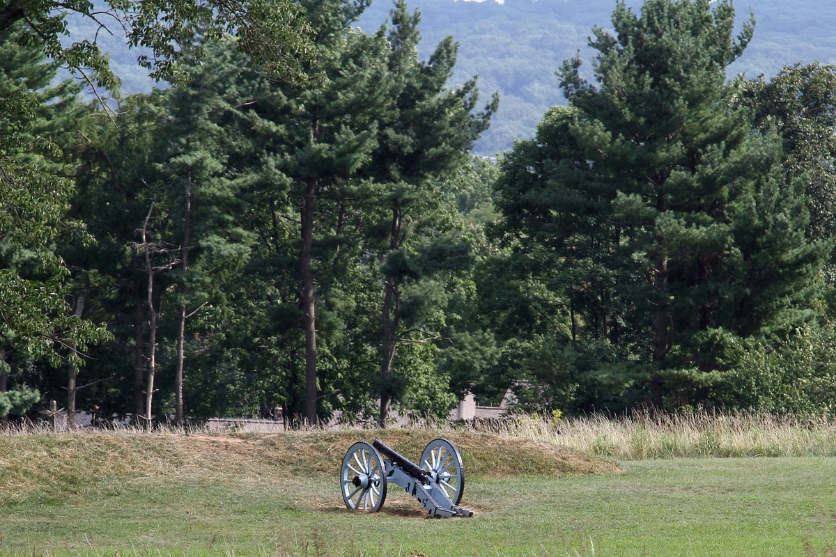 Cannon in Valley Forge National Historical Park.