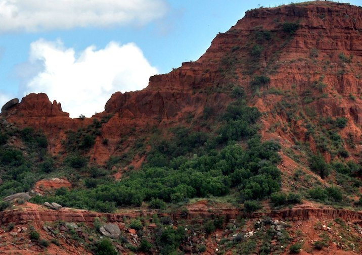 Caprock Canyons State Park in Texas.