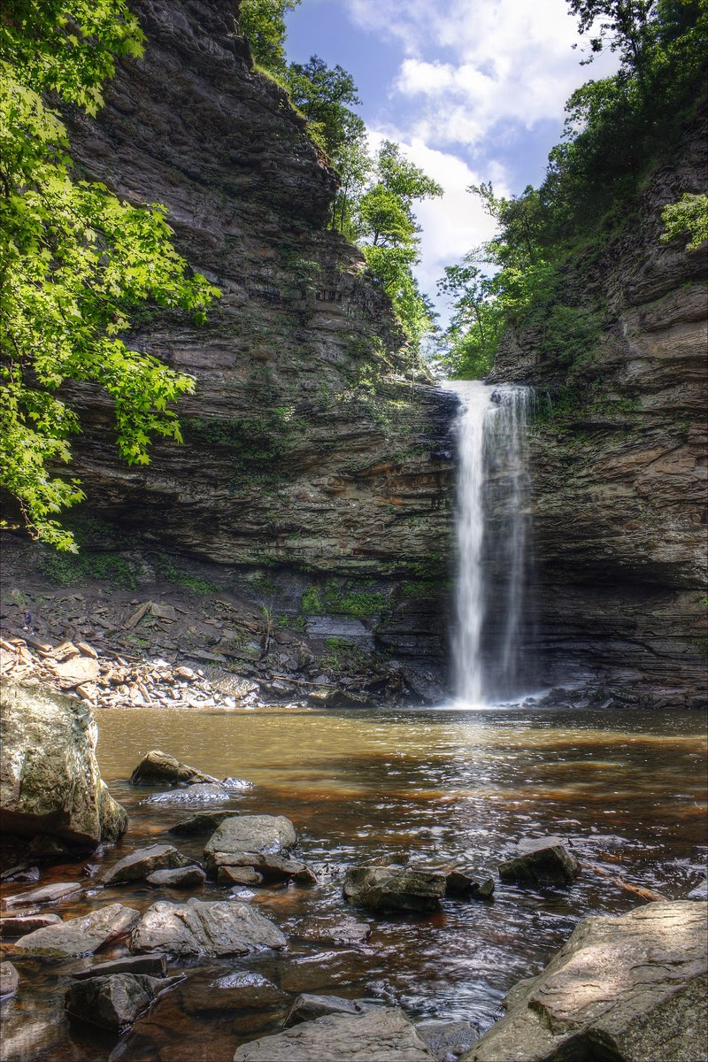 Cedar Falls in Petit Jean State Park in Arkansas.