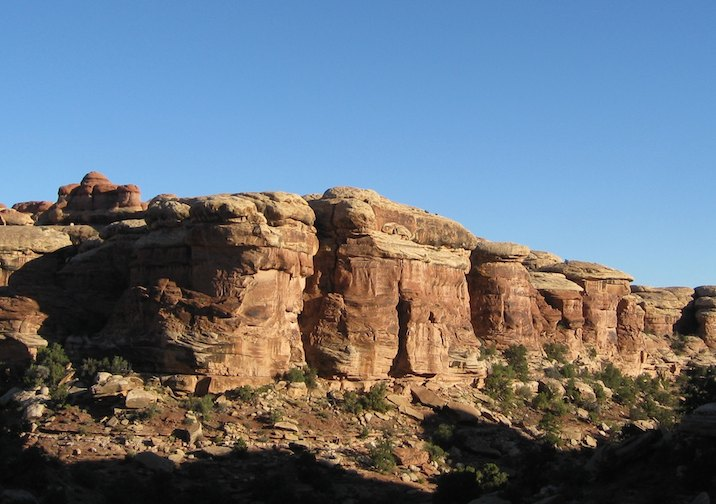 Amazing Chesler Park in the Needles District of Canyonlands National Park.