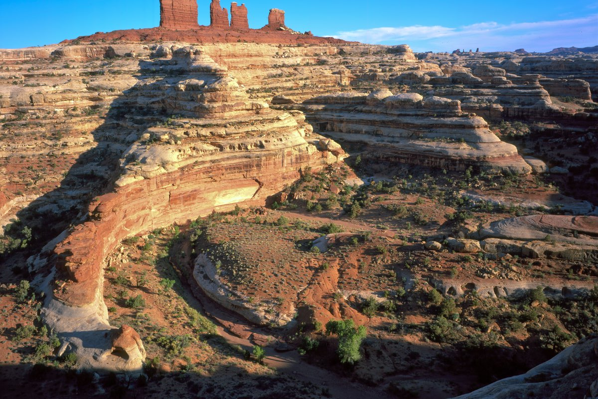 Chocolate Drops in the Maze District of Canyonlands National Park.