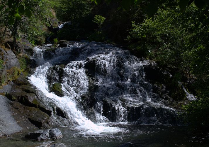 Crystal Creek Falls in Whiskeytown NRA
