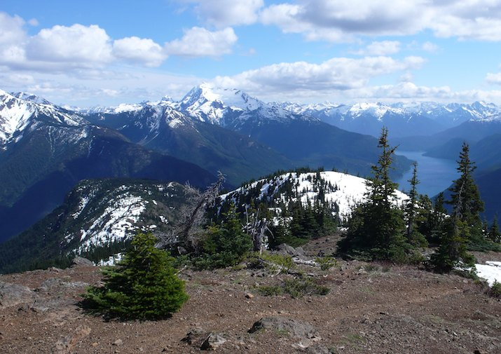 Desolation Peak trail in North Cascades National Park.