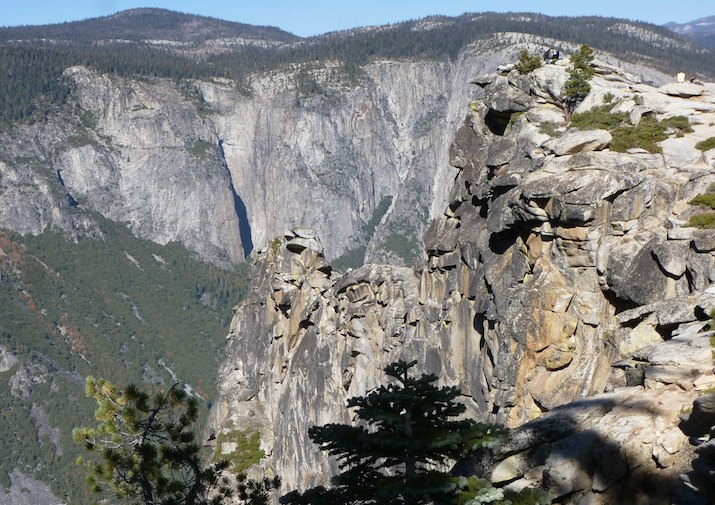 Dewey Point in Yosemite National Park.