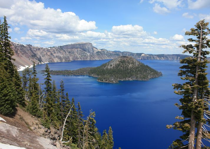 Crater Lake from the Discovery Point Trail.