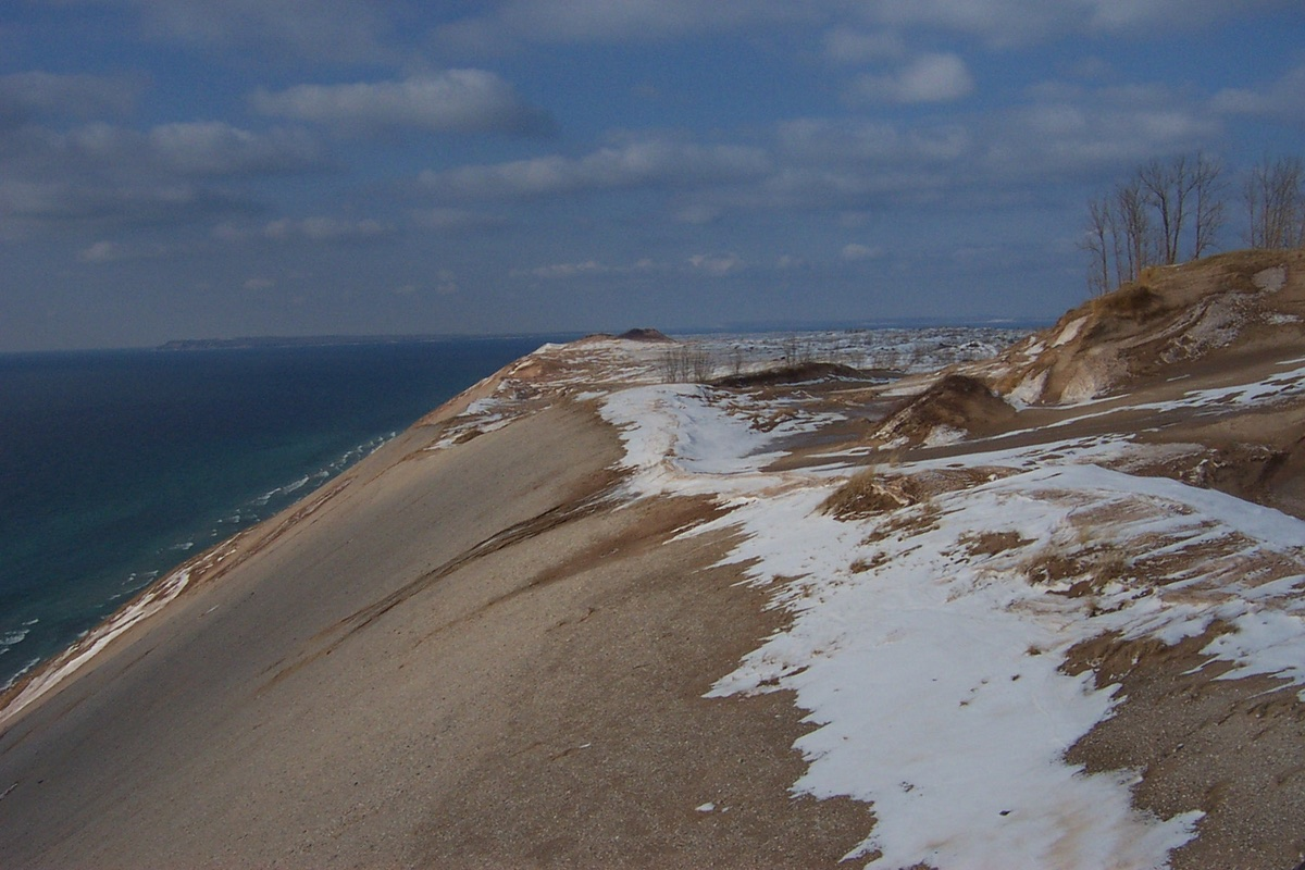 Sleeping Bear Dunes National Lakeshore in Michigan.