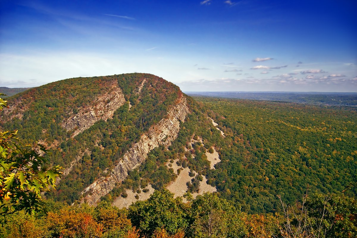 Mount Tammany in the Delaware Water Gap National Recreation Area.