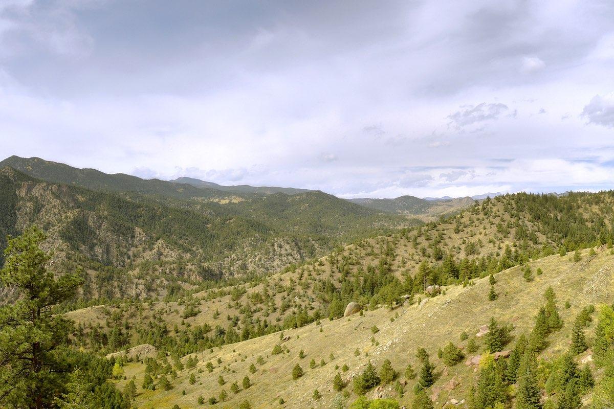 Eldorado Canyon State Park near Boulder Colorado.