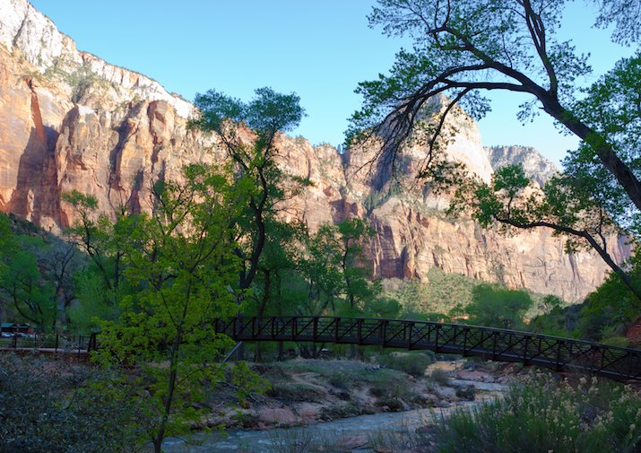 Emerald Pools Trail in Zion National Park.
