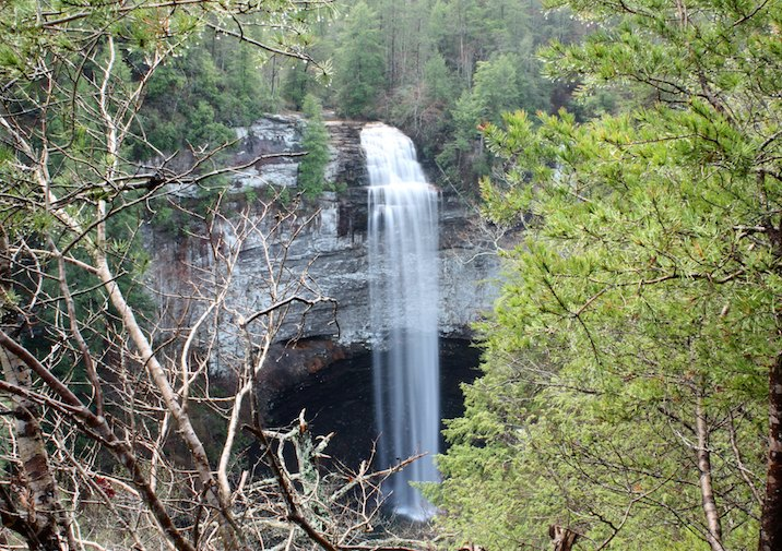 Stunning Fall Creek Falls State Park in Tennessee.