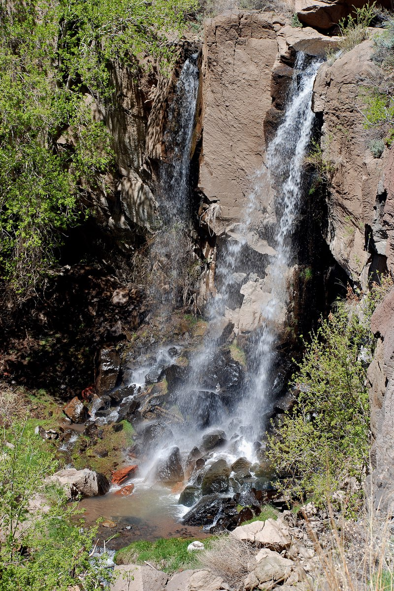 Lower Falls in Bandelier National Monument.