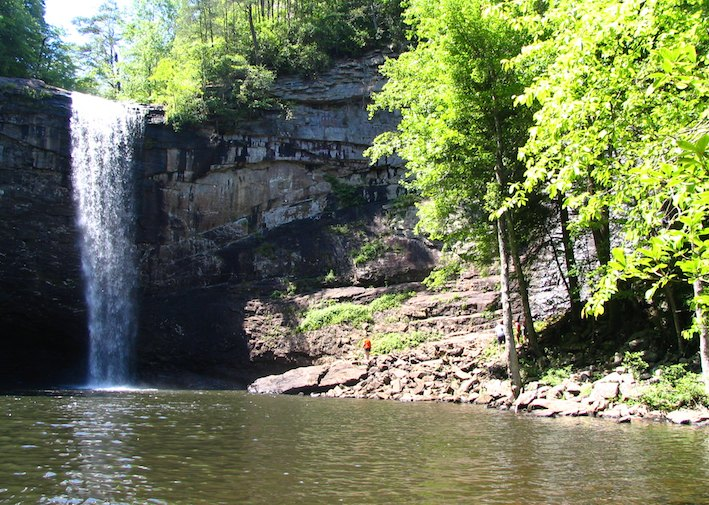 Foster Falls in South Cumberland State Park.