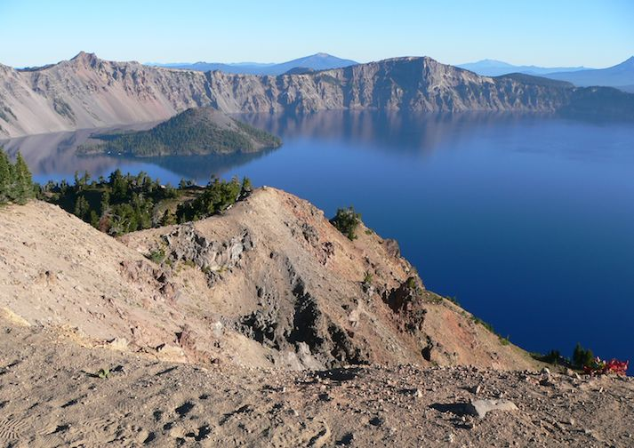 Crater Lake from Garfield Peak Trail.