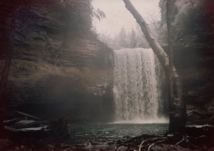 Greeter Falls in South Cumberland State Park.