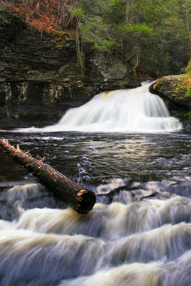 Hackers Falls in Delaware Water Gap National Recreation Area.