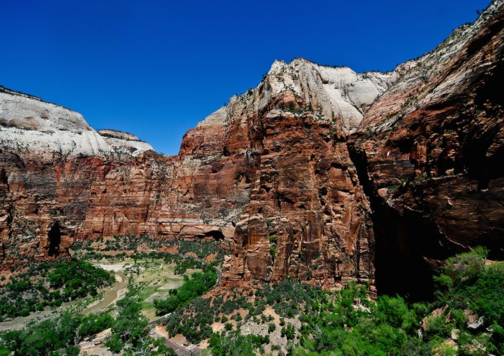 Hidden Canyon Trail in Zion National Park.
