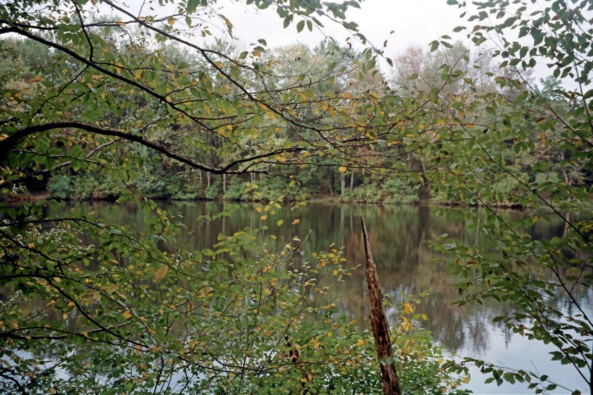 Hidden Lake in Delaware Water Gap NRA.