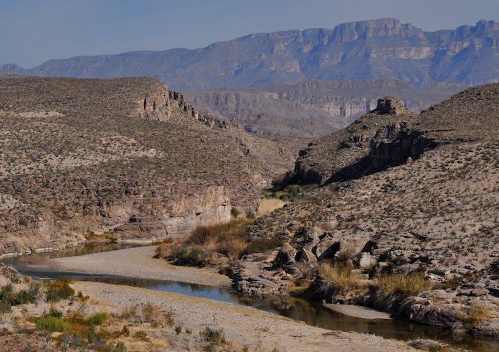 Hot Springs Canyon in Big Bend National Park, Texas.