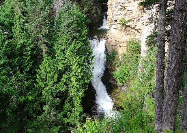 Myrtle Falls in Kootenai NWR.