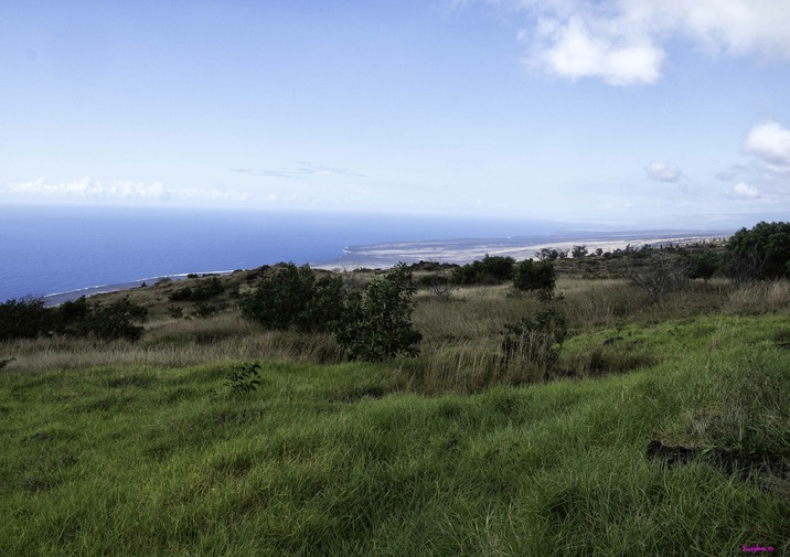 Hiking the Ka`aha Trail in Hawaii Volcanoes National Park.