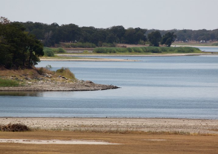 Lake Somerville State Park near College Station Texas.