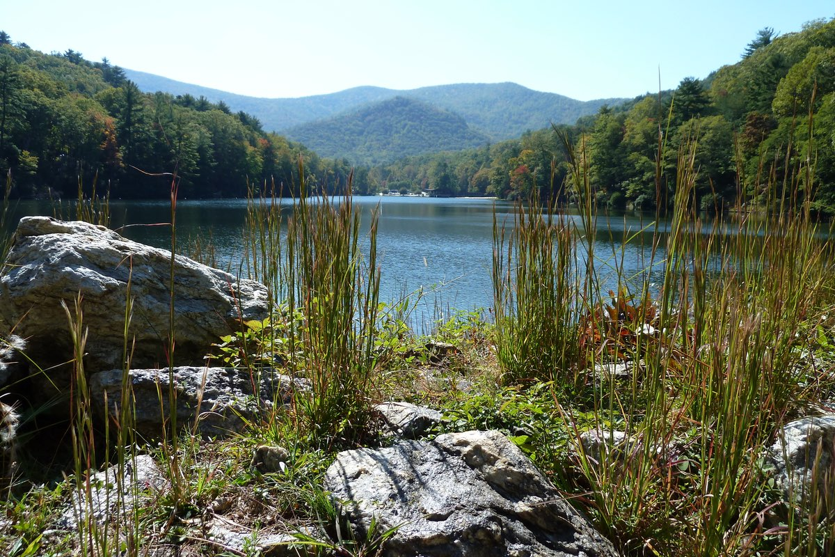 Lake Trahlyta in Vogel State in Georgia.